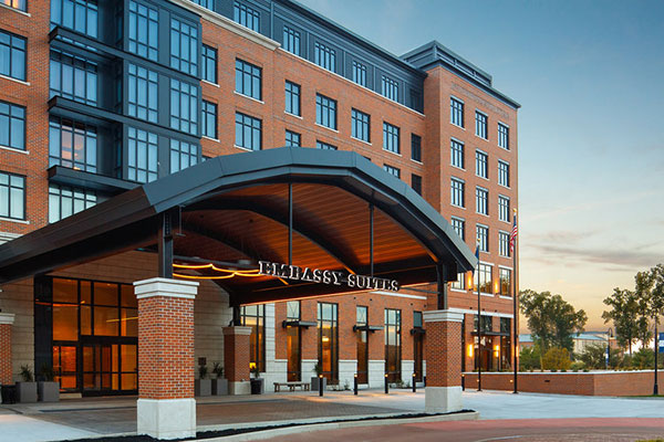 Embassy Suites South Bend, IN at Notre Dame Slide 1